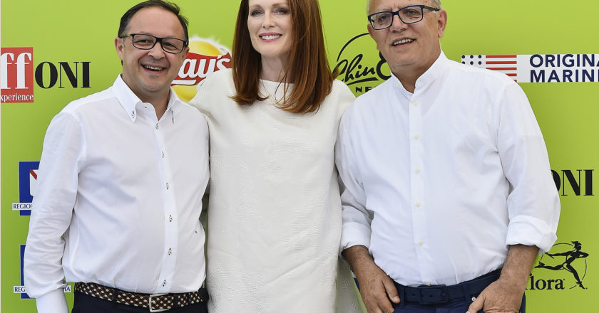 JULIANNE MOORE TO THE GIFFONI YOUTH