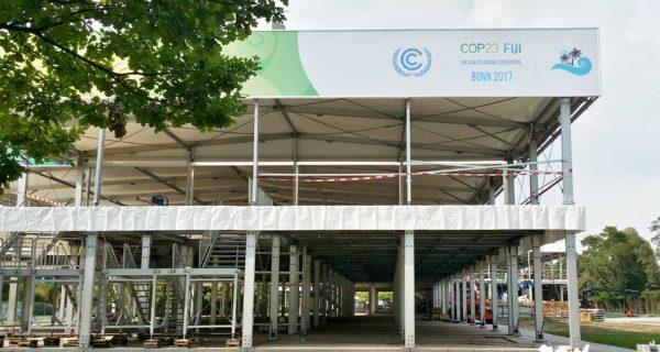 Klimakonferenz Bonn Baustelle 2017