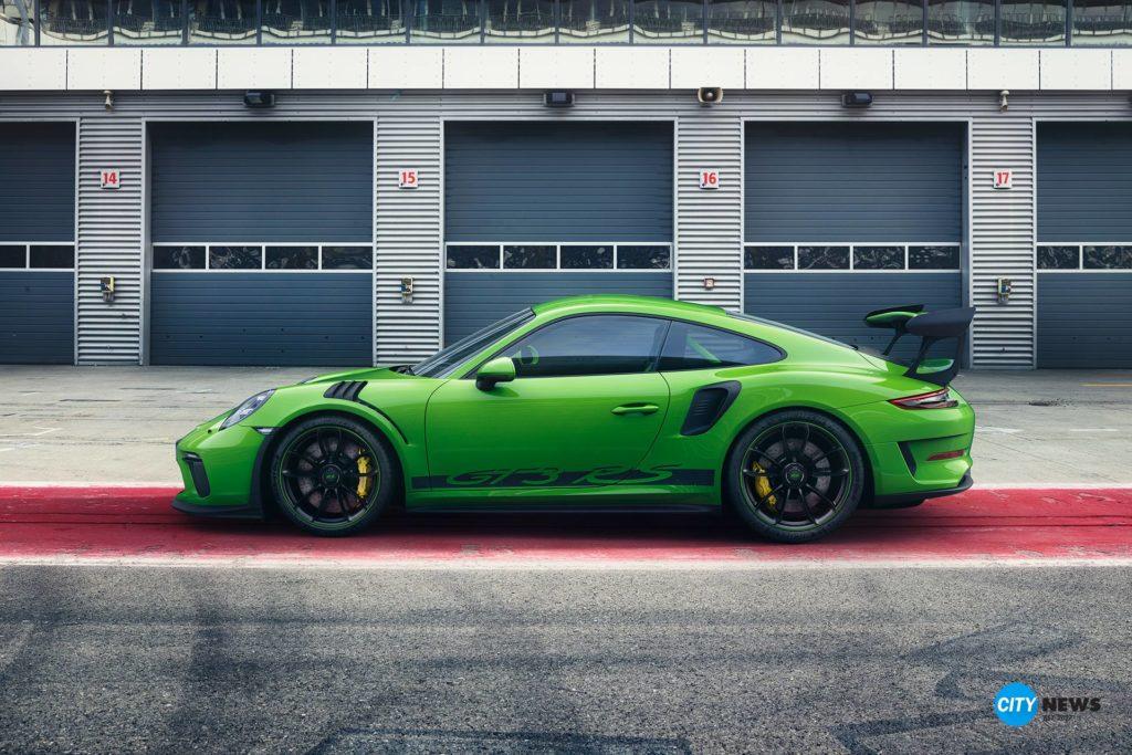 porsche 911 GT3 RS, Porsche 2018, Ganz nah am Rennsport: der neue Porsche 911 GT3 RS, City-News.de, City-News.de