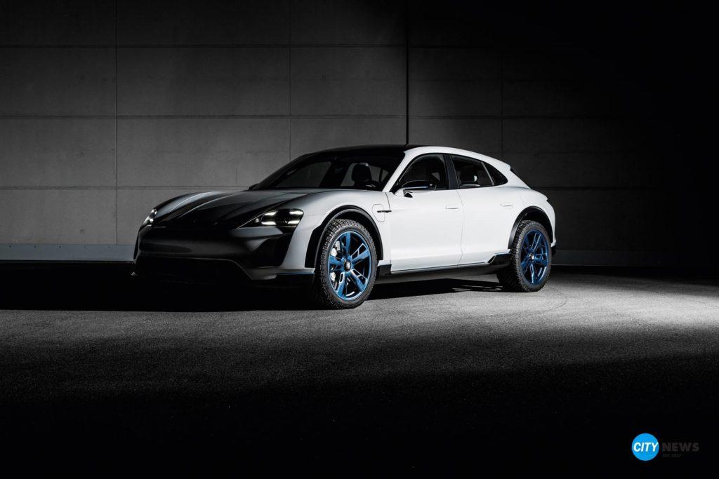 porsche, mission e, konzeptstudie, Mission E Cross Turismo: Porsche Konzeptstudie setzt Maßstäbe im Design, City-News.de, City-News.de