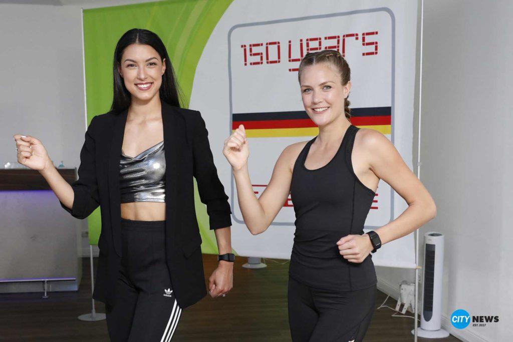 Rebecca Mir, Soehnle, Fitnessprogramm, Soehnle und Rebecca Mir zeigen, wie ohne viel Aufwand eine solide Grundfitness erreicht wird, City-News.de