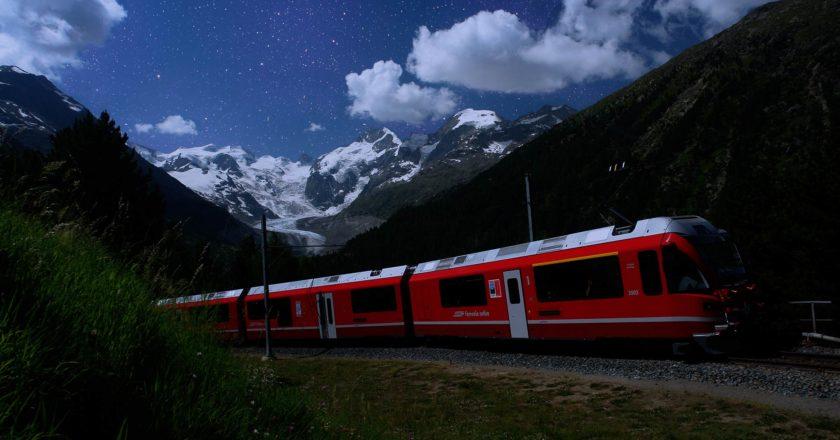 Sternguckerfahrten Foto: Rhätische Bahn