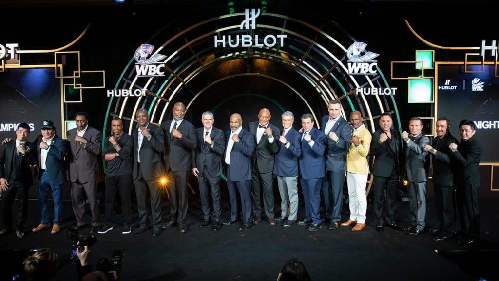 "Hublot, Hublot, der WBC und eine legendäre ""NIGHT OF CHAMPIONS"", City-News.de, City-News.de"