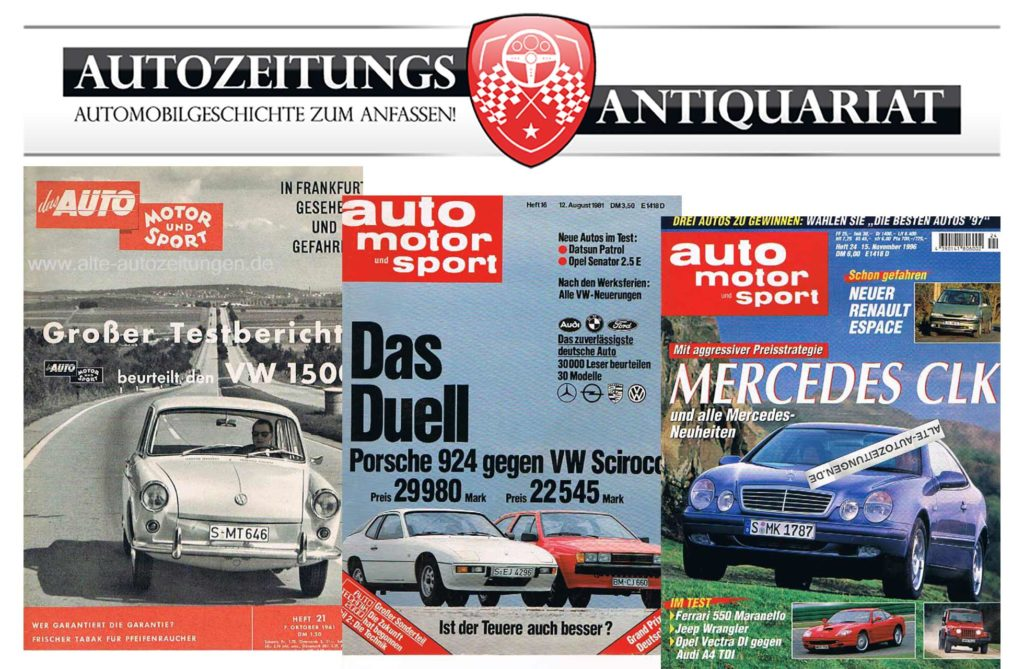 , Der Onlineshop für historische Autozeitschriften, City-News.de