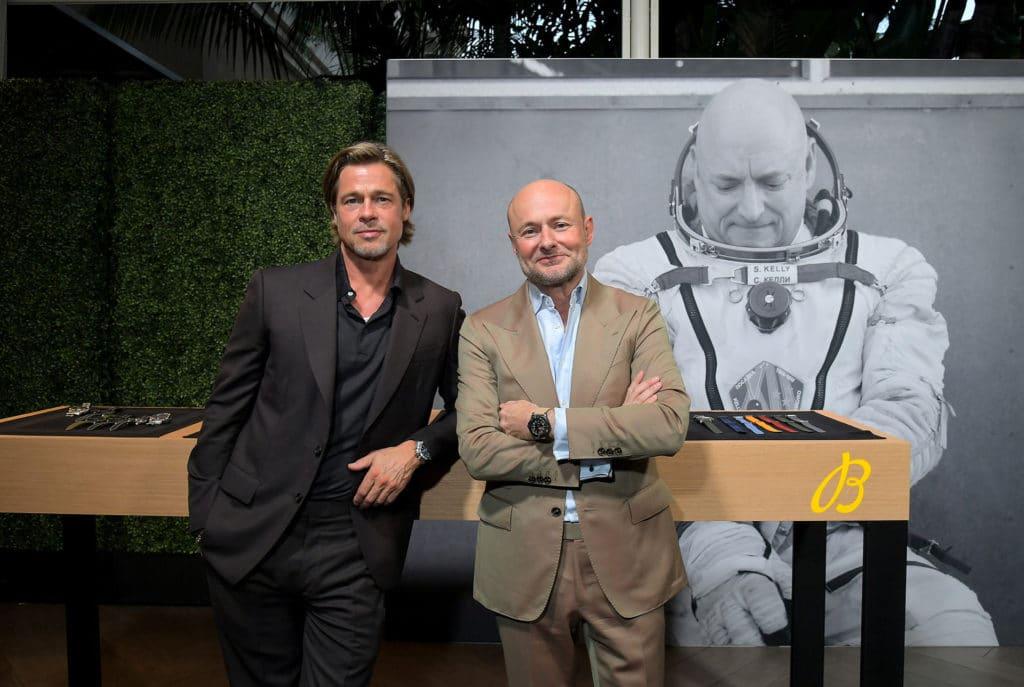 breitling brad pitt, Brad Pitt überrascht Gäste bei Breitling Gipfel, City-News.de
