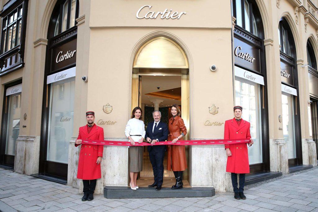 Cartier Boutique München, Wiedereröffnung der Cartier Boutique München, City-News.de, City-News.de