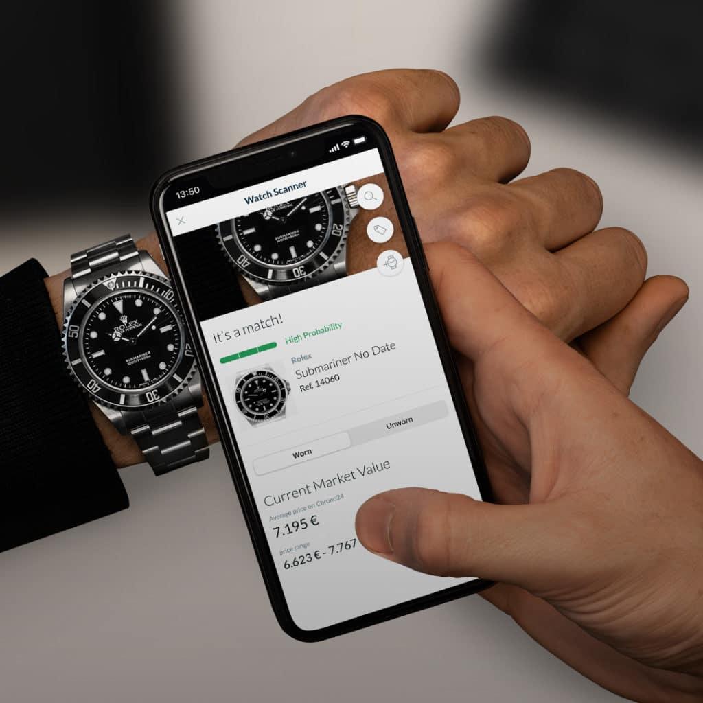 watch scanner app, Uhren mit nur einem Foto-Klick erkennen Chrono24 veröffentlicht den Watch Scanner, City-News.de