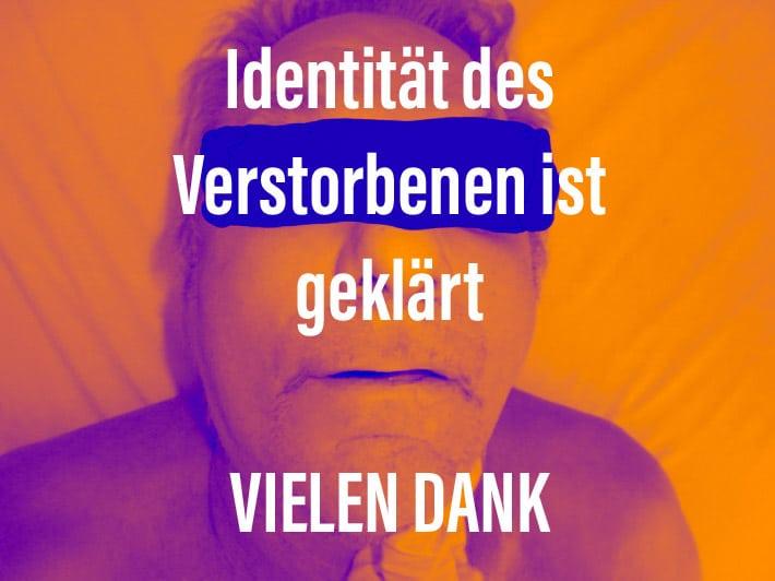 , Identität des Verstorbenen aus Offenbach ist geklärt, City-News.de, City-News.de