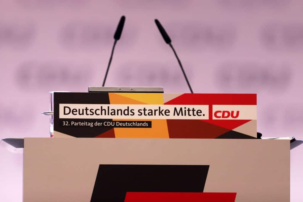 , Zwei Bewerbungen für CDU-Parteivorsitz eingegangen, City-News.de