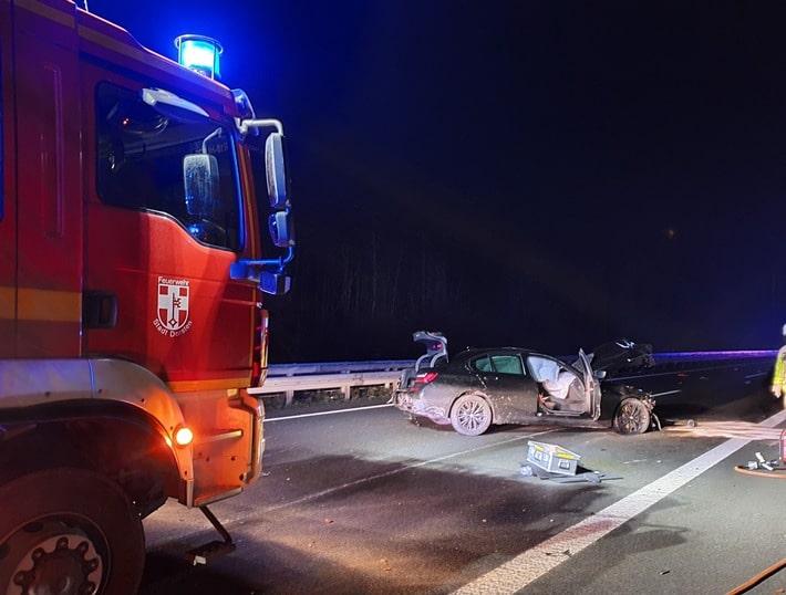 , Verkehrsunfall Bundesautobahn 31 mit 2 verletzten Personen, City-News.de, City-News.de