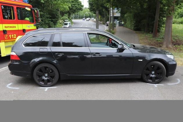Kind Rettungswagen Verkehrsunfall Krankenhaus BMW Vermillionring, Kind bei Verkehrsunfall schwer verletzt – Ratingen –, City-News.de