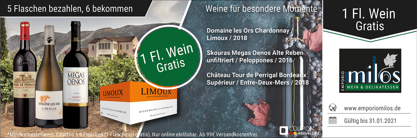 Emporio Milos Cologne – Wein & Feinkost
