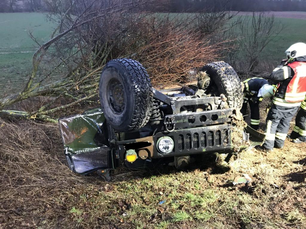 Verkehrsunfall Marnheim, Schwerer Verkehrsunfall bei Marnheim, City-News.de