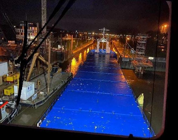 Wasserschutzpolizeiinspektion, Seeschiff touchiert Dalben an der Papenburger Seeschleuse, City-News.de