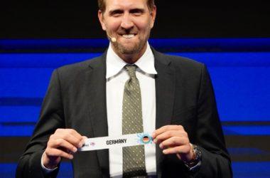 Dirk Nowitzki, Botschafter der FIBA EuroBasket 2022 in Deutschland.