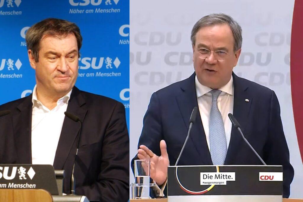 , Laschet und Söder nehmen an Unionsfraktionssitzung teil, City-News.de