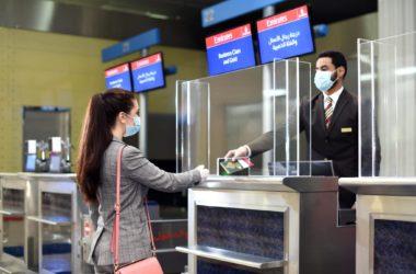 Emirates Check-in mit digitaler Verifizierung