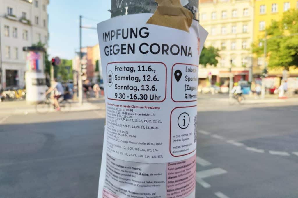 , Hotspot-Impfungen in Berlin wenig erfolgreich, City-News.de