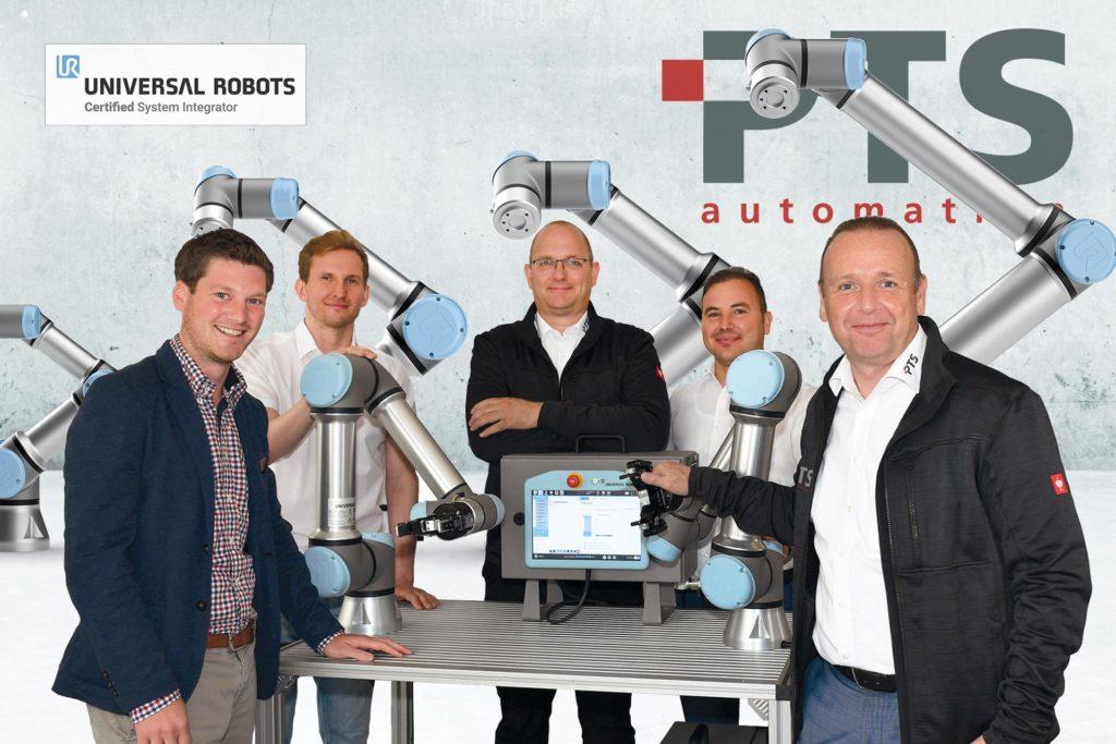 PTS Automation GmbH, Die PTS ist ab sofort Certified System Integrator von Universal Robots, City-News.de