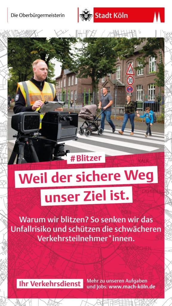 Köln blitzt, Köln blitzt – wer langsam fährt, nimmt Rücksicht, City-News.de
